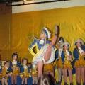 Biwak in Gelb und Blau